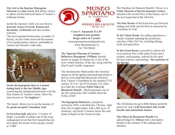 brochure museospartano 2017 inglese immagine